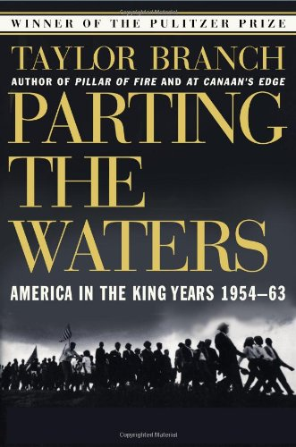 Parting the Waters America in the King Years, 1954-1963  1989 (Reprint) 9780671687427 Front Cover