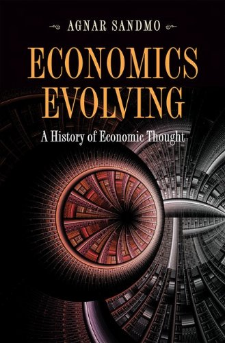 Economics Evolving A History of Economic Thought  2011 9780691148427 Front Cover