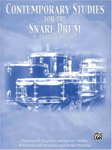 Contemporary Studies for the Snare Drum   2001 edition cover