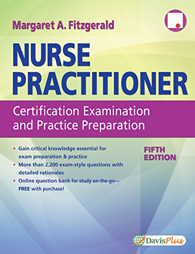 Nurse Practitioner Certification Examination and Practice Preparation  5th 2017 (Revised) 9780803660427 Front Cover