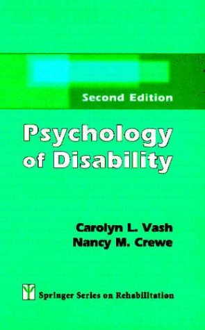 Psychology of Disability  2nd 2003 (Revised) edition cover