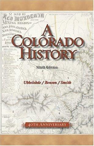 Colorado History  9th 2006 edition cover