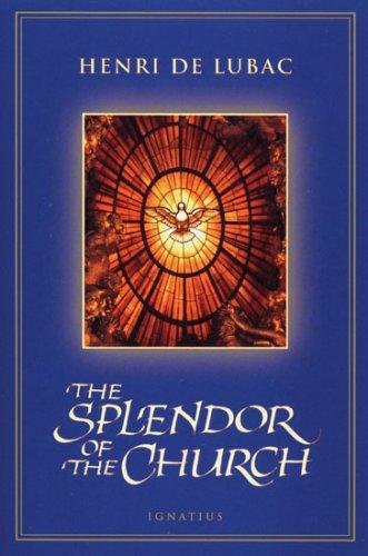 Splendor of the Church  N/A edition cover