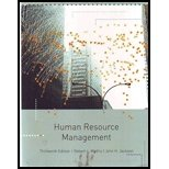 HUMAN RESOURCE MANAGEMENT >CUS N/A 9781133269427 Front Cover
