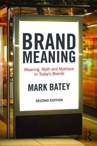 Brand Meaning  2nd 2016 (Revised) 9781138839427 Front Cover