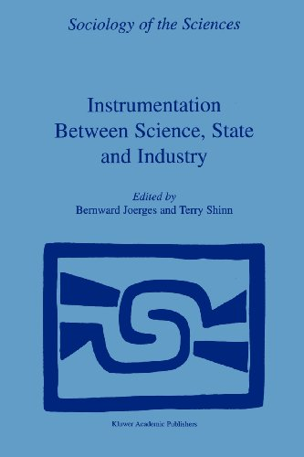 Instrumentation Between Science, State and Industry   2001 9781402002427 Front Cover