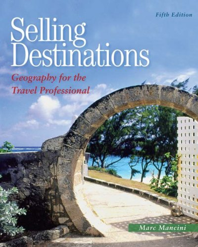 Selling Destinations  5th 2010 edition cover
