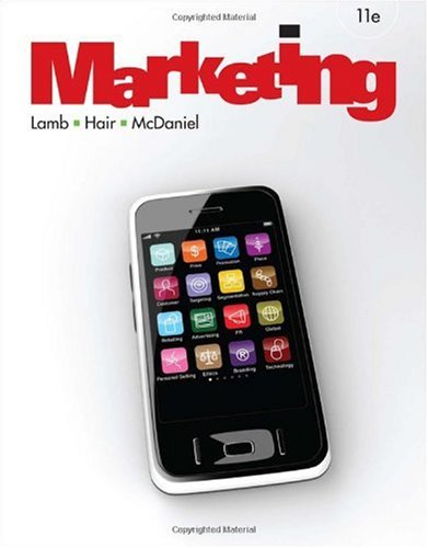 Marketing  11th 2011 9781439039427 Front Cover