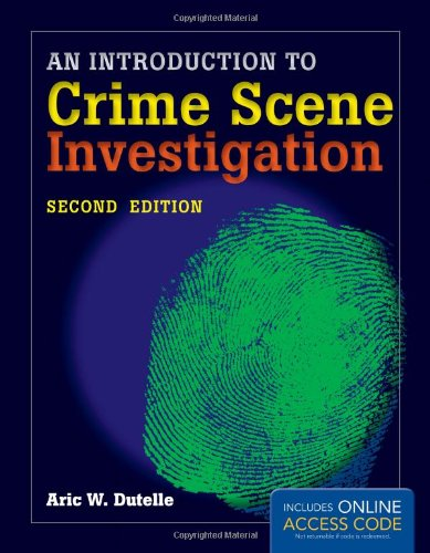 Introduction to Crime Scene Investigation  2nd 2014 edition cover