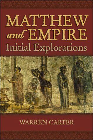 Matthew and Empire Initial Explorations  2001 edition cover