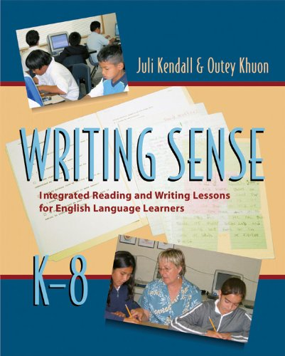 Writing Sense Integrated Reading and Writing Lessons for English Language Learners  2006 9781571104427 Front Cover
