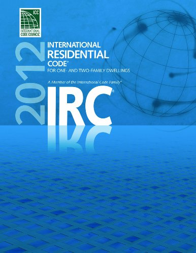 2012 International Residential Code for One- and Two- Family Dwellings   2011 edition cover