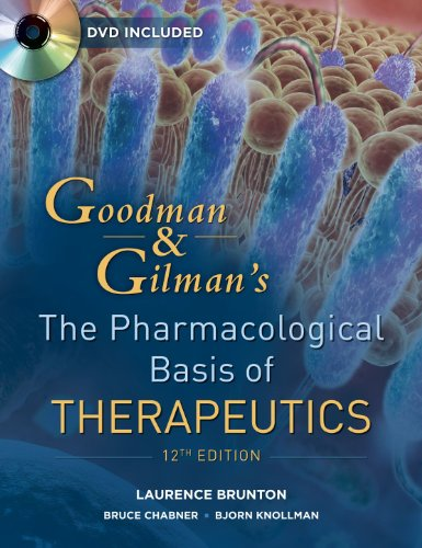 Pharmacological Basis of Therapeutics  12th 2011 edition cover
