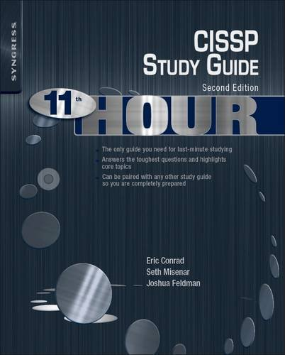 Eleventh Hour CISSP Study Guide 2nd 2013 edition cover