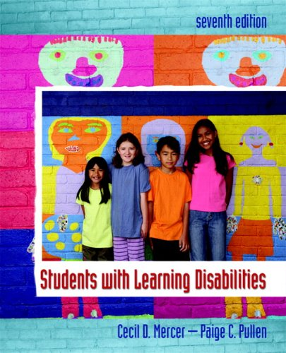 Students with Learning Disabilities  7th 2009 edition cover