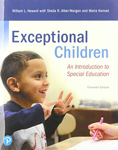 Exceptional Children An Introduction to Special Education 11th 2017 9780135160428 Front Cover