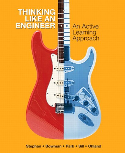 Thinking Like an Engineer An Active Learning Approach  2011 edition cover