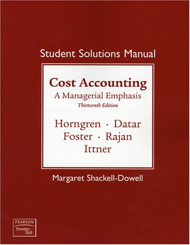 Student Solutions Manual  13th 2009 9780138130428 Front Cover