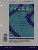 Calculus Early Transcendentals, Books a la Carte Edition 2nd 2015 edition cover