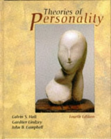 Theories of Personality  4th 1998 (Revised) edition cover