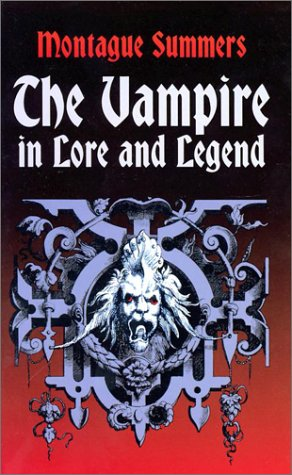 Vampire in Lore and Legend   2001 edition cover