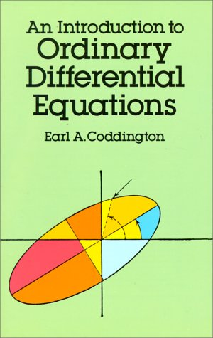 Introduction to Ordinary Differential Equations   1989 edition cover