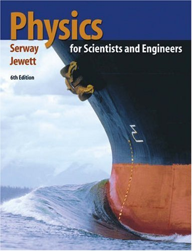 Physics for Scientists and Engineers  6th 2004 edition cover