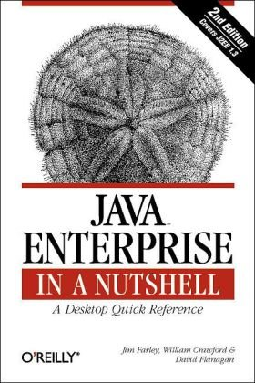 Java Enterprise in a Nutshell  3rd 2005 (Revised) 9780596101428 Front Cover