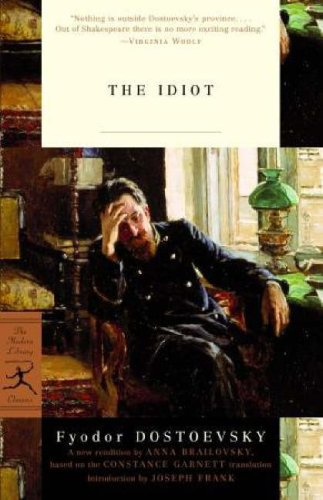 Idiot   2003 edition cover