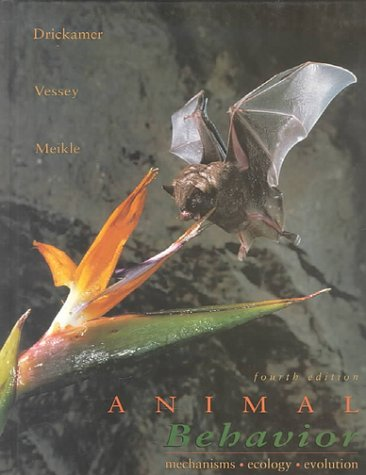 Animal Behavior : Mechanisms, Ecology and Evolution 4th 1996 edition cover