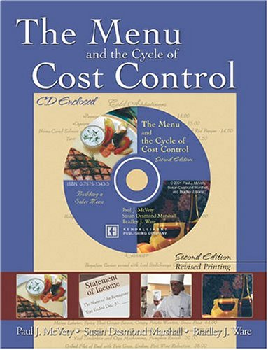 Menu and the Cycle of Cost Control 2nd 2001 (Revised) 9780757513428 Front Cover