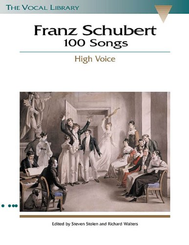 Schubert 100 Songs N/A edition cover