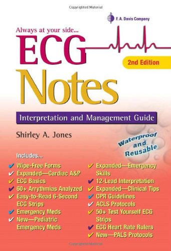 ECG Notes Interpretation and Management Guide 2nd 2009 (Revised) edition cover