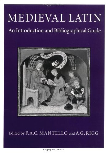 Medieval Latin An Introduction and Bibliographical Guide N/A edition cover