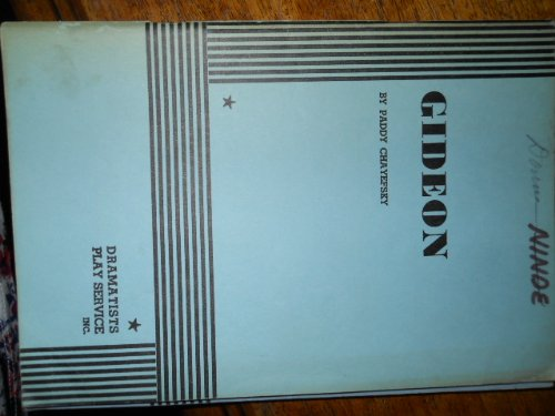 Gideon  N/A edition cover