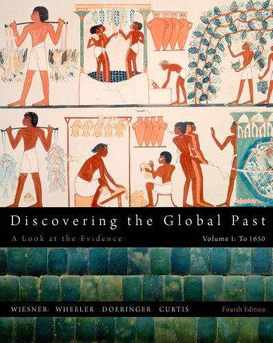 Discovering the Global Past  4th 2012 edition cover