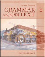 Grammar in Context Book 2  4th 2006 edition cover