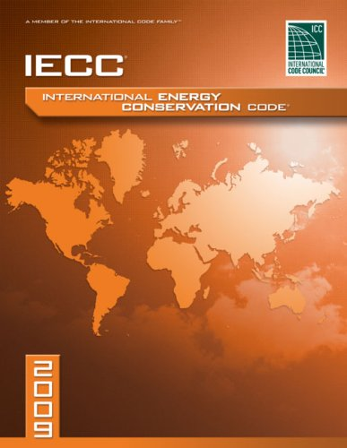 2009 International Energy Conservation Code Softcover Version  2009 edition cover