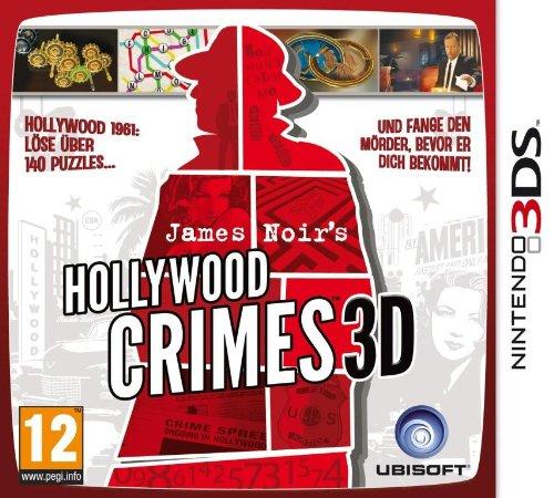 James Noir'S Hollywood Crimes 3D [AT PEGI] Nintendo 3DS artwork