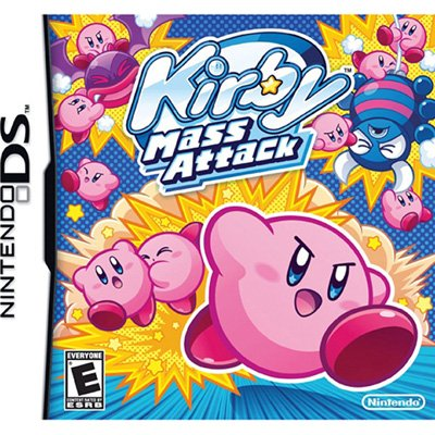 Kirby Mass Attack Nintendo DS artwork