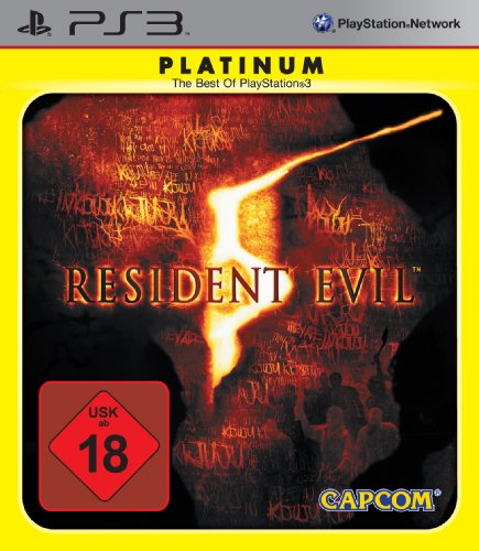 Resident Evil 5 [Platinum] PlayStation 3 artwork