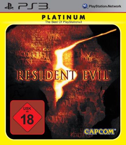 Resident Evil 5 [Platinum] PlayStation 3 artwork