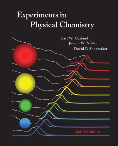 Experiments in Physical Chemistry  8th 2009 edition cover