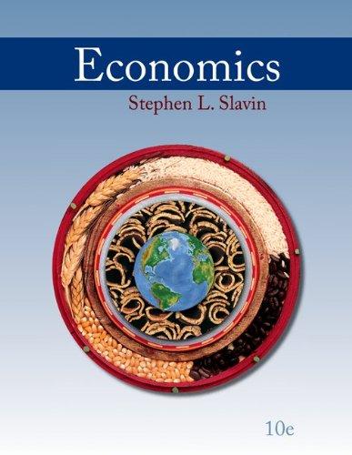 Economics  10th 2011 9780073511429 Front Cover
