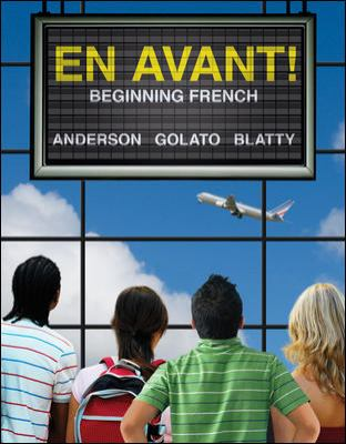 En Avant! - Beginning French   2012 edition cover