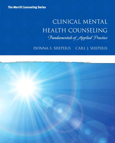 Clinical Mental Health Counseling Fundamentals of Applied Practice, Loose-Leaf Version  2015 9780133828429 Front Cover