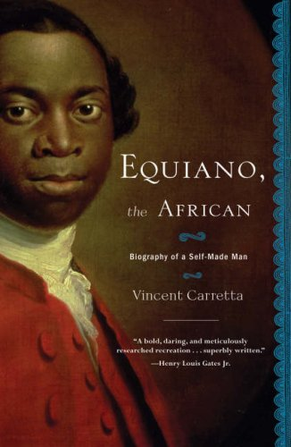 Equiano, the African Biography of a Self-Made Man  2006 edition cover