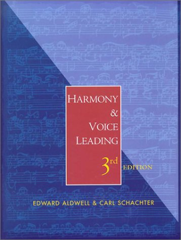 Harmony and Voice Leading  3rd 2003 (Revised) edition cover