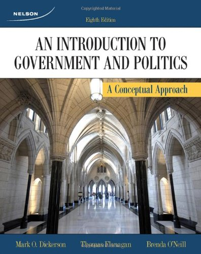 INTRO.TO GOVERNMENT+POLITICS > N/A 9780176500429 Front Cover