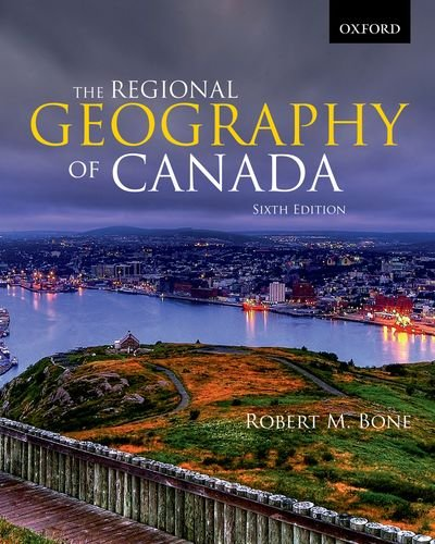 Regional Geography of Canada  6th 2013 edition cover
